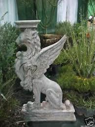 4 1 2 ft fiberglass griffin outdoor garden statue ebay