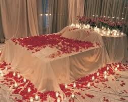 First Nite Room Decorations Bridal Wedding Bedroom Decoration Designs Ideas Pictures