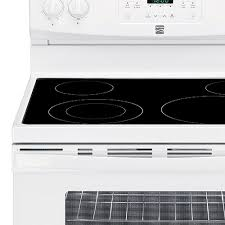 Kenmore Cooktop Replacement Glass Kenmore 94192 5 4 Cu Ft Electric Range W Convection Oven
