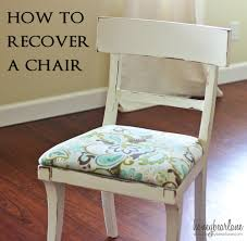 how to recover dining chairs with fabric home design ideas