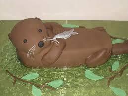 otter cake topper otter cake from the sugar otter otters