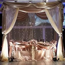Bride And Groom Table Decoration Ideas Stunning Sweetheart Table Wedding Reception Ideas Pinterest
