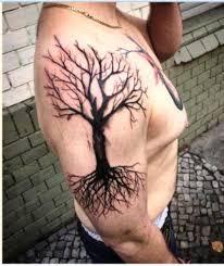 dead oak tree meaning tattos for