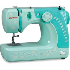Interior Stitches Janome 11706 Hello Kitty Lightweight Easy To Use Sewing Machine