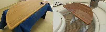 Painting Boat Interior Yacht Refinishing