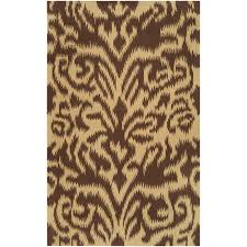 The Dump Rugs Floors U0026 Rugs Contemporary Chocolate African Pattern 3x5 Rugs For
