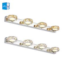 Crystal Bathroom Mirror Online Get Cheap Crystal Mirror Lights Bathroom Aliexpress Com