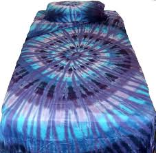 amazon com twilight spiral tie dye sheet set twin home u0026 kitchen