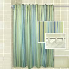 Green And Brown Shower Curtains Bathroom Color Green Blue And Yellow Striped Shower Curtain