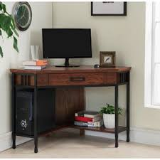Solid Wood Corner Desk With Hutch Solid Wood Corner Desks You U0027ll Love Wayfair