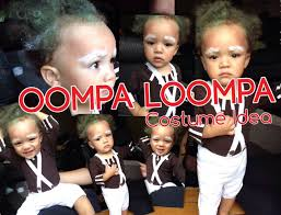 Easy Toddler Halloween Costume Ideas Diy Oompa Loompa Costume Halloween Costume Idea For Children And