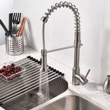 kitchen sinks contemporary high arc kitchen faucet touch kitchen