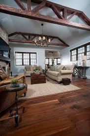heritage wide plank flooring traditional living room