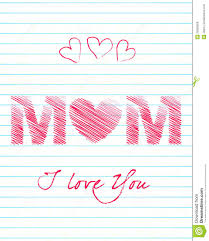 cute mother u0027s day greeting card royalty free stock images image