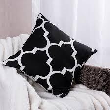 Modern Cushions For Sofas Pillows Design Black Pillow Geometric Cushions Decorative Throw