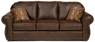Leather Sleeper Sofas Rustic Leather Hide A Way Bed And Sleeper Sofas