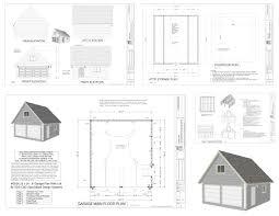 24 24 2 car garage plans blueprints free materials list cost