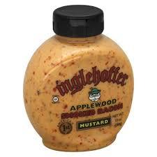 inglehoffer sweet hot mustard applewood smoked bacon honey mustard 10 oz bottle