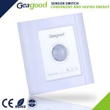 Bathroom Motion Sensor Light Switch Gd Rt1 China Pc Material High Quality 86 86mm Motion Sensor Light