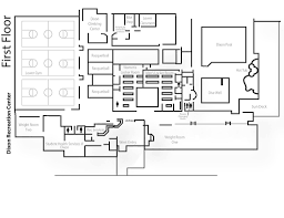 Recreation Center Floor Plan by Disability Access Recreational Sports Oregon State University