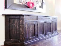 furniture mission style sideboard rustic buffet table