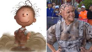 spirit halloween little rock meredith vieira surprises today as pig pen for a u0027peanuts