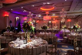 led lighting for banquet halls the grand ballroom with different led lighting colors at a luxury