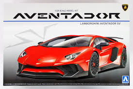 Lamborghini Aventador Tail Lights - aoshima lamborghini aventador lp750 4 sv model kit 51207 up