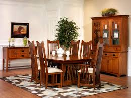 mission style dining room set mission dining room amish furniture designed