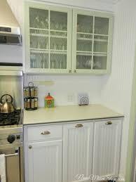 cabinets u0026 drawer enchanting clear glass sage green kitchen