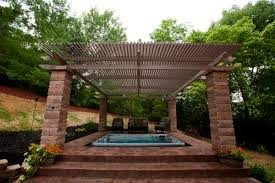 Louvered Roof Pergola by Louvered Roof Gallery Distinctive Patios