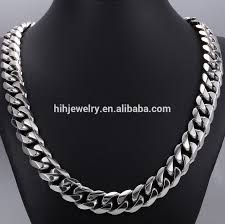 big link necklace images 30mm wide fashion silver stainless steel necklace men 39 s big curb png