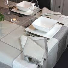 Chemin De Table Naturel Serviette De Table Valbonne Jacquard Naturel Linge De Table U0026 Maison