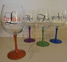 how to personalize a wine glass how to make glittered wine glasses wine learning and glass