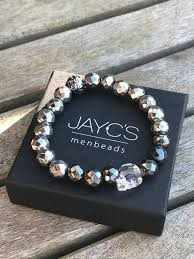 bracelet men skull images Looking for men bracelets jayc 39 s menbeads men 39 s bracelets jpg