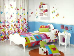 girls bedroom decorating ideas on a budget white floor and classic white bed frame for inexpensive girls