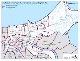 New Orleans Elevation Map by Reference Maps The Data Center