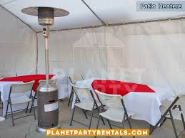 Outdoor Propane Patio Heater Outdoor Patio Heater Rentals With Propane Tank Balloon Arches