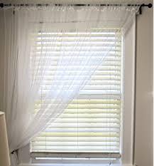 Ikea 98 Inch Curtains Ikea Lill Sheer Curtains 1 Pair White 280x300 Cm Amazon Co