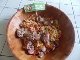 cuisiner foie de volaille riz pilaf aux foies de volailles confits t