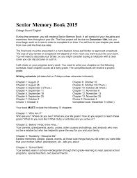 senior memory book file