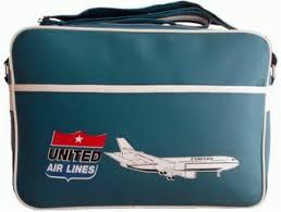 united airlines how many bags dc 10 aircraft united airlines flight bag retro style vintage