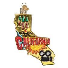state of california ornament callisters