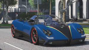 pagani gta 5 pagani zonda tricolore 2010 add on vehicules pour gta v sur