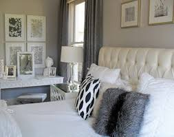 current project transforming a neutral master bedroom into a grey