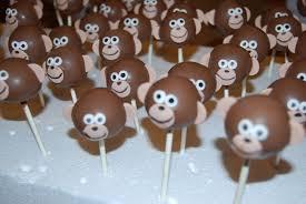 pin by michelle yan on animal cake pops pinterest monkey cake