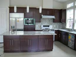 espresso stained oak cabinets deductour com