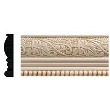 ornamental mouldings 5 16 in x 11 16 in x 96 in white hardwood