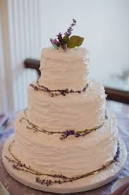 wedding cake lavender textured wedding cake with lavender elizabeth designs the