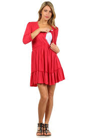 nursing dress ruffle nursing dress bellymoms maternity and nursingwear